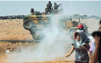 Nella tempesta di fuoco di Kobane Colonne di jihadisti e blindati in fumo