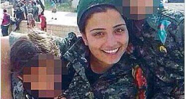 La kamikaze curda che si è immolata contro i terroristi