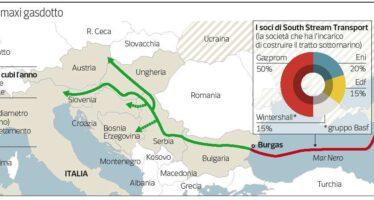 South Stream gasdotto della discordia Il duello con Putin e i dubbi dell'Eni