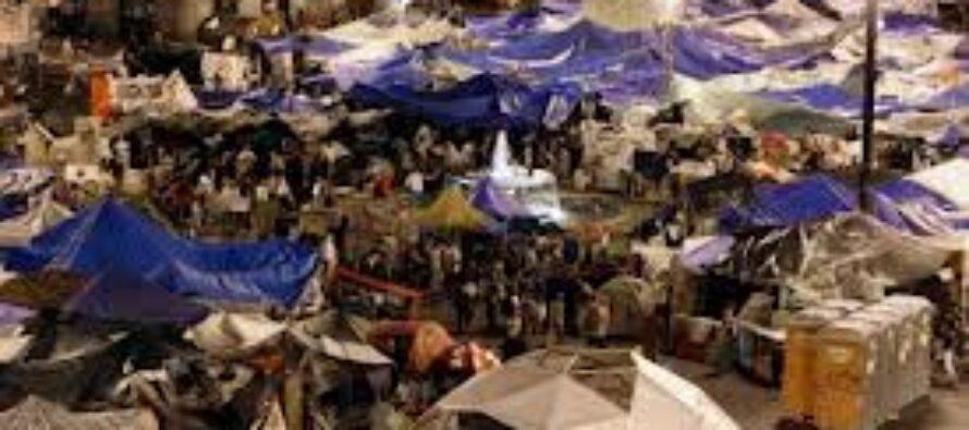 Il nuovo partito delle « acampadas »