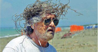 Beppe Grillo. Crisi di un leader che si era illuso di poter avere il Paese in pugno