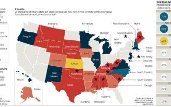 Kentucky, West Virginia Volata repubblicana per prendere il Senato