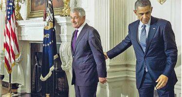 Obama silura il capo del Pentagono