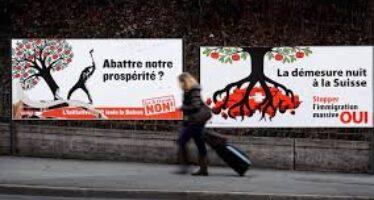 Svizzera, gli eco-estremisti guidano il voto anti immigrati