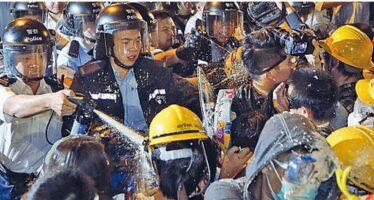 Cariche e arresti A Hong Kong è la resa dei conti