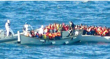 Sbarchi, 8 mila immigrati al mese