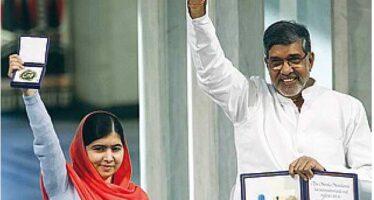 Malala e Kailash, un Nobel in due: siamo padre e figlia
