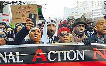 L'America antirazzista in marcia