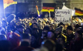 Dresda, il balzo della destra anti islamica di Pegida