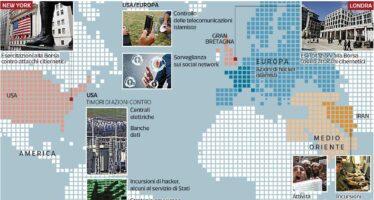 Centrali, banche, media nel mirino I 140 Paesi pronti alla cyber guerra