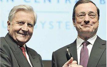 Draghi: non voglio essere un politico