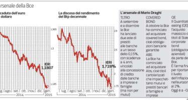 I giudici: la Bce può acquistare i titoli di Stato
