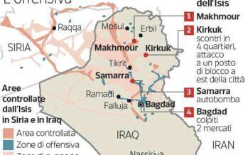 L'Isis attacca Kirkuk, bombe a Bagdad: la nuova offensiva