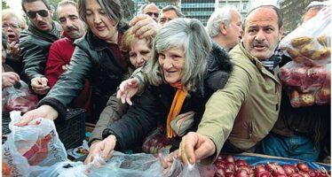 Grecia. Mercatini e farmacie, la rete sociale
