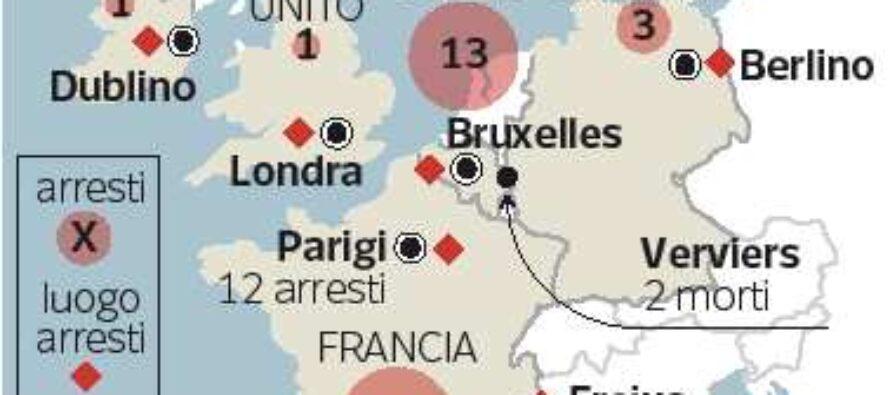 In Belgio volevano colpire la polizia Estremisti uccisi, la pista cecena