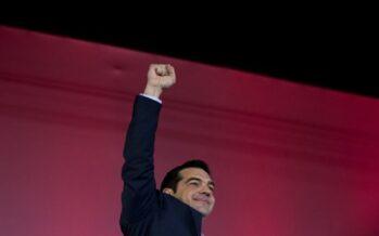 """Tsipras: """"Ha vinto la speranza"""""""