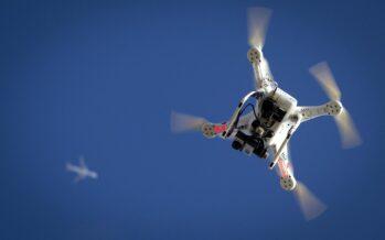 Droni, il futuro èun volo solitario