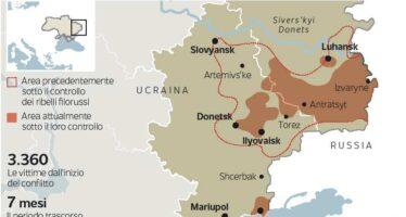 In 100 mila mobilitati dai filo russi