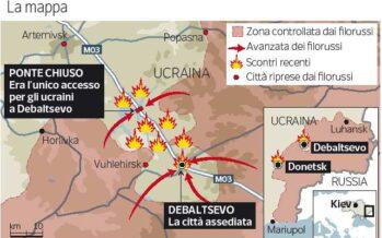 Ucraina, l'ultimo assalto prima della tregua Gli Usa: « Mosca ha schierato i suoi tank »