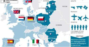 Subito truppe e «basi» nell'Est La Nato alza il muro in Europa