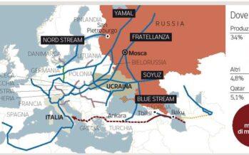 La minaccia di Putin: «Niente più gas a Kiev anche l'Europa rischia»
