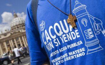 L'appello alla mobilitazione: «Senza acqua Roma muore, riprendiamoci la vita»
