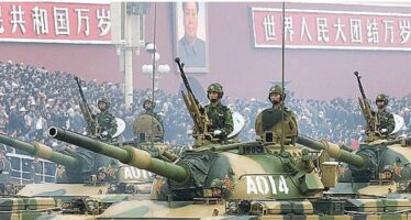 Cina.La nuova marcia dell'esercito rosso