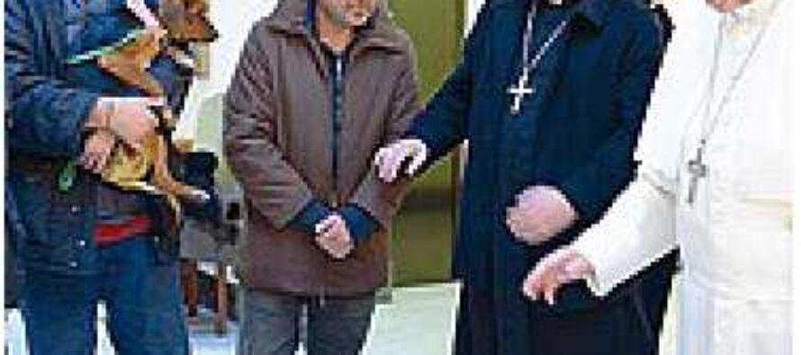 Il Vaticano apre la Cappella Sistina ai clochard