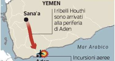Yemen, il presidente in fuga I sauditi iniziano a bombardare