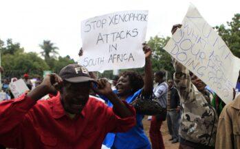 Xenofobia eguerra diplomatica in Sudafrica