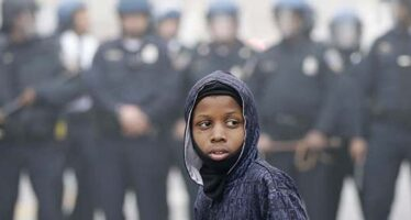 Le violenze a Baltimora