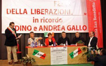 """Don Ciotti e Landini nel nome del """"Gallo"""": """"La Resistenza non è finita"""""""