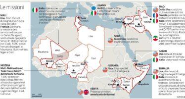 Dall'Iraq alla Somalia, gli italiani al fronte