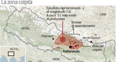 Il terrore sul tetto del mondo Ora il Nepal piange i suoi morti