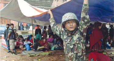 Il mondo in soccorso del Nepal