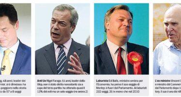 Una classe politica rottamata A scrutinio ancora in corso si dimettono tutti i perdenti