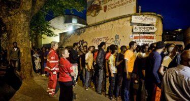 E aRoma gara di solidarietà per iprofughi della Tiburtina