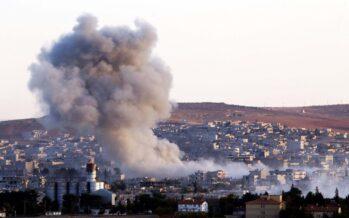 La trincea di Kobane