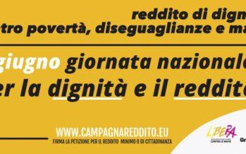 Reddito minimo, una firma per fare dell'Italia un paese meno diseguale