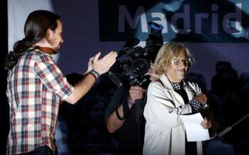 A Madrid governano Podemos esinistra, insieme