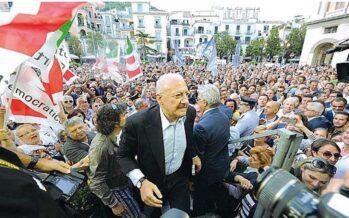 """De Luca indagato per corruzione """"Favori al giudice per rimanere in carica"""""""