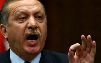 L'esercito di Erdogan pronto ad entrare inSiria