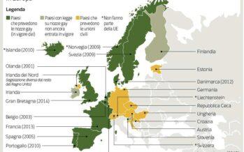 L'Europarlamento sulle famiglie: «Estendere i diritti a quelle gay »