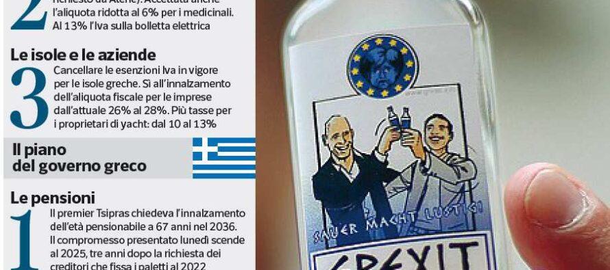 L'accordo non c'è, ultimatum alla Grecia Weekend decisivo per i destini dell'euro