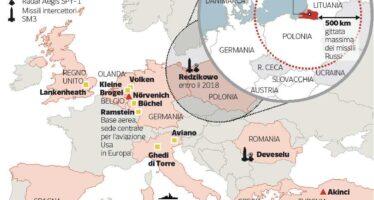 L'ipotesi Usa: missili in Europa per contrastare la minaccia russa