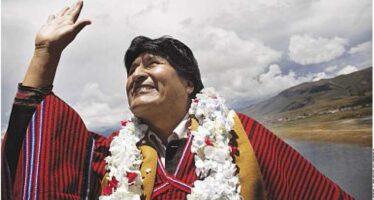 La Bolivia abbandona Evo Morales
