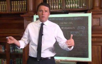 Il ricatto di Renzi: «Tre giorni per decidere il futuro dei docenti precari »