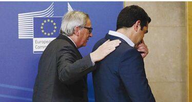 Grecia, accordo vicino. Bruxelles: piano esauriente. Euforia in Borsa