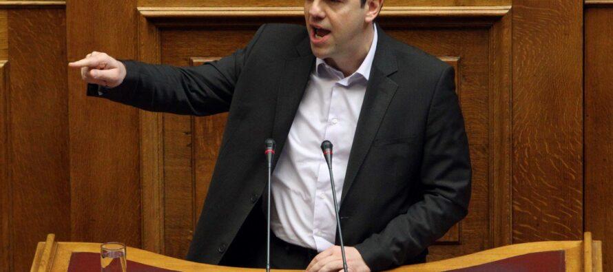 Le carte scoperte di Tsipras
