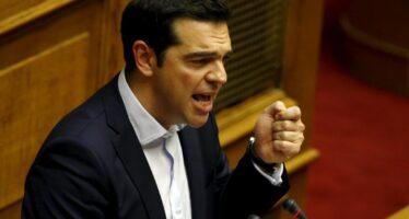 Tsipras: Non rispettano la democrazia eci accusano di golpismo